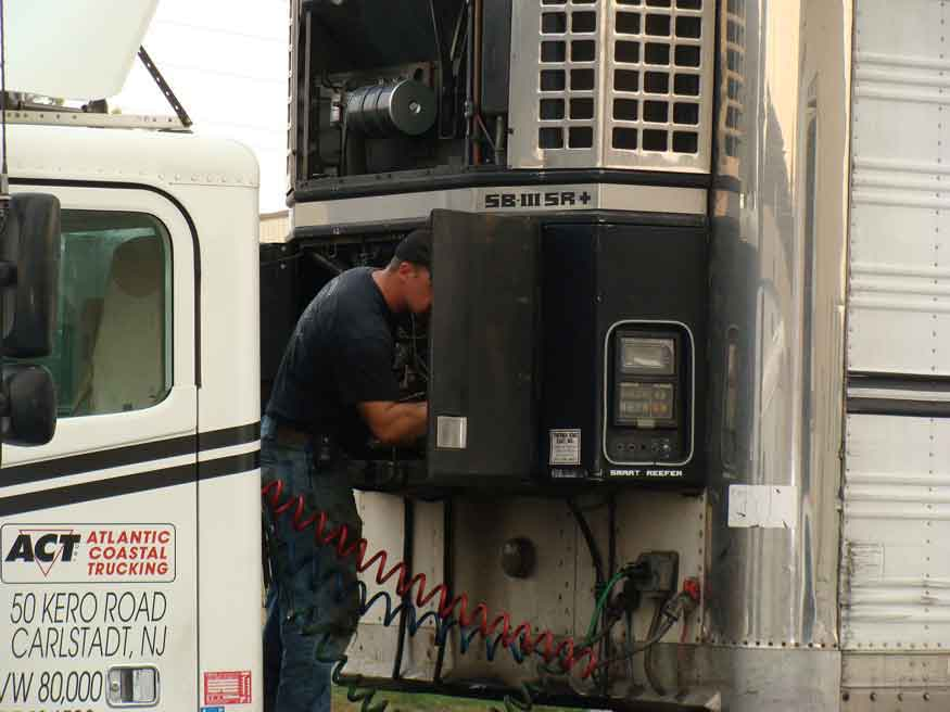 Semi Trailer Repair York, PA - York PA Refrigeration Unit